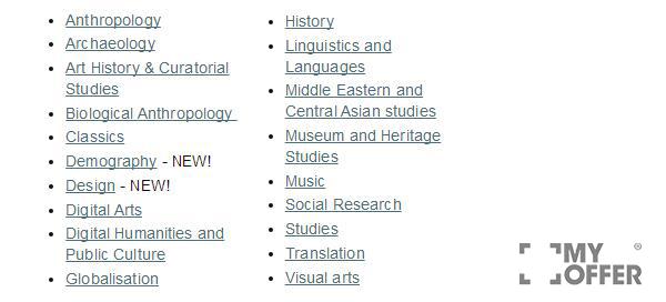 澳大利亚国立大学专业介绍