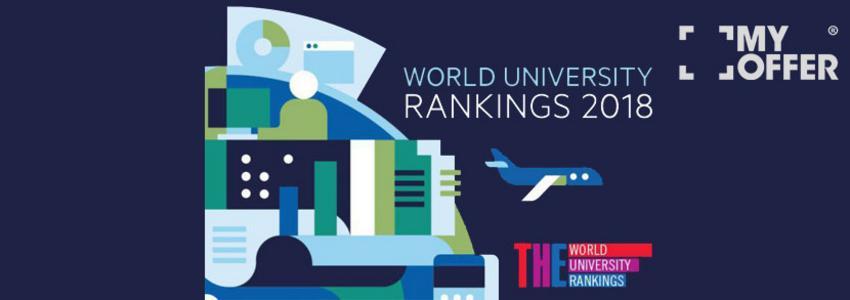 英国大学最新排名之2018晤士高等教育THE世界大学排名出炉